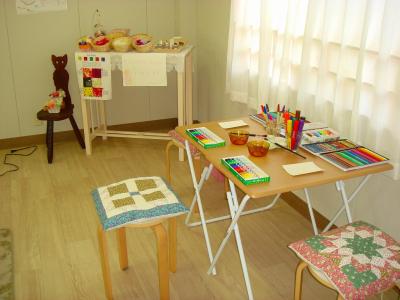 ハーティーラボラトリーのアートの部屋